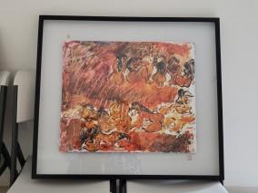 지옥의 수확 - 스코트랜드, 런던, 파리 갤러리 주최 출품작